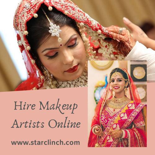 Hire Makeup Artists Online