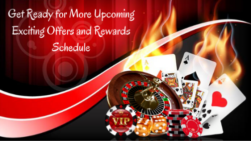 Get Ready for More Upcoming Exciting Offers and Rewards Schedule