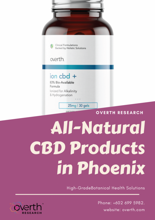 CBD Oil and All-Natural CBD Products in Phoenix