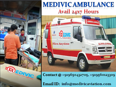 Medivic ICU  Ambulance in Patna | Low Cost Ambulance in Patna