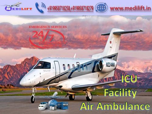 Medilift - The Best Medical Support in the Air Ambulance Patna