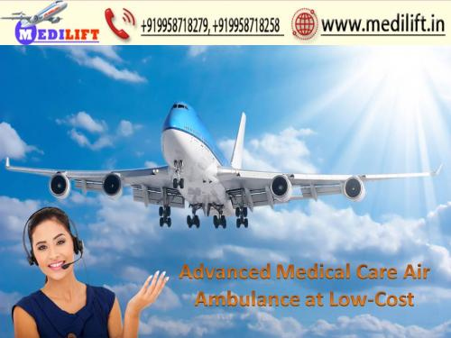 Medilift Air Ambulance in Kolkata-Available without any Hidden Cost