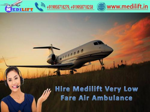 Hire Full Life-Support Air Ambulance Service in Patna