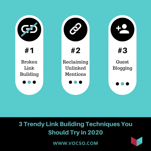 3 Trendy Link Building Techniques You Should Try in 2020
