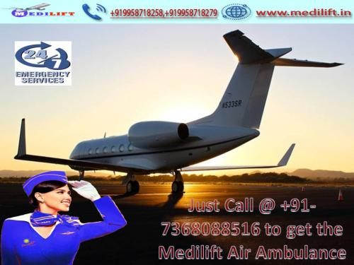 Medilift Air Ambulance Service in Bangalore – Available at Economical Fare