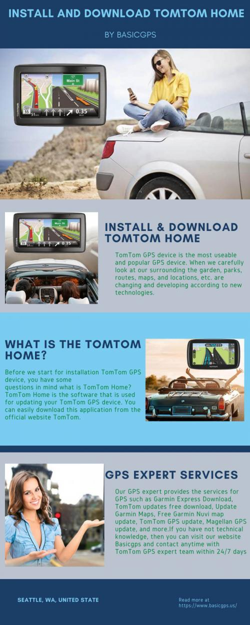 Install and Download TomTom Home by Easiest Methods