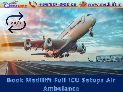 Medilift Offers Best and Affordable Air Ambulance Service in Mumbai