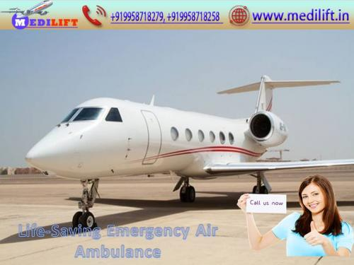 Avail Reliable Medilift Air Ambulance Service in Bangalore