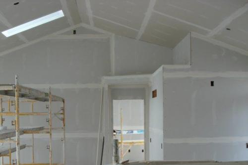 New Home Drywall Installation
