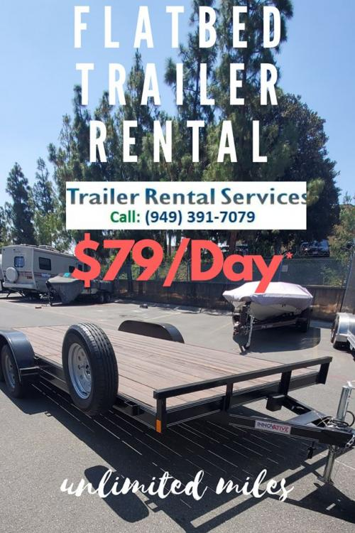 Checkout our brand new Flatbed Trailers
