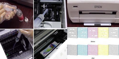 Clean Print Head