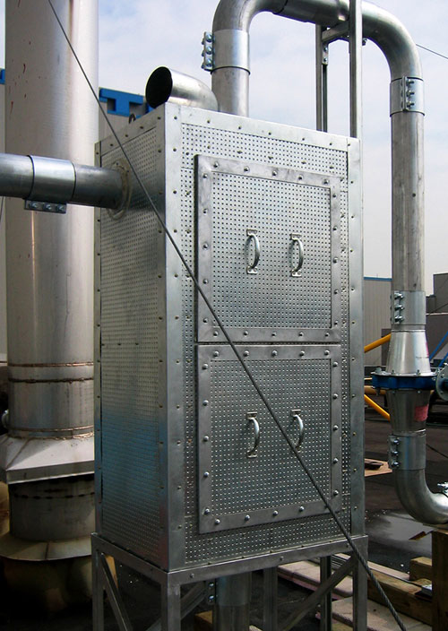 Blast Enclosure for Industrial Use