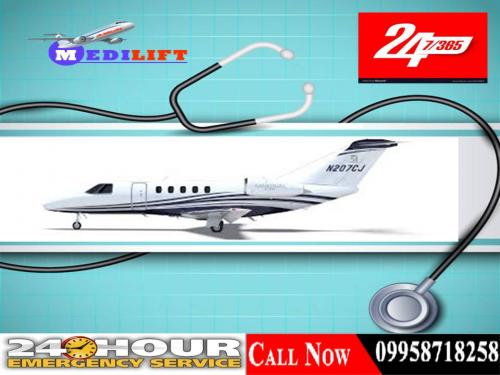 Remarkable Air Ambulance Service in Patna by Medilift