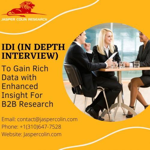 In Depth Interview - IDI