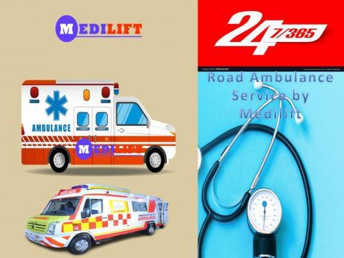 Book Medilift Emergency Ambulance in Bhagalpur