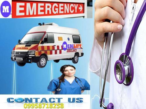 Get Low-Cost Ambulance Service in Bhagalpur