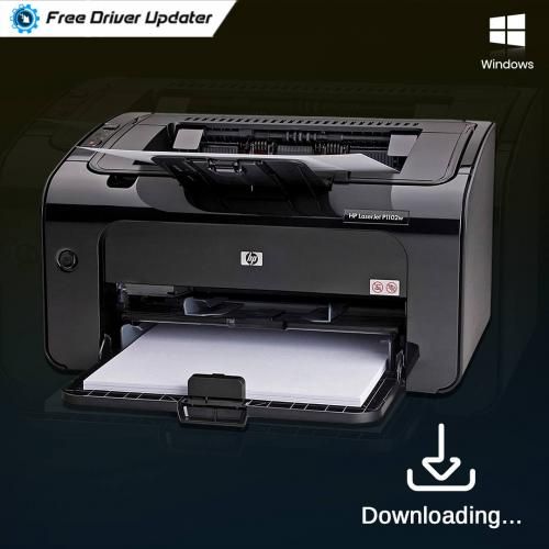 How to Download HP LaserJet P1102w Driver for Windows 10