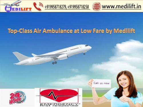 An Emergency Medilift Air Ambulance Service in Kolkata