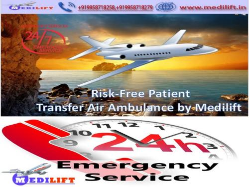 Top-Class and Superior Air Ambulance Service in Patna