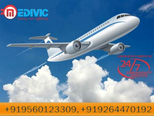 Quick Patient Transfer Air Ambulance in Kolkata by Medivic Aviation