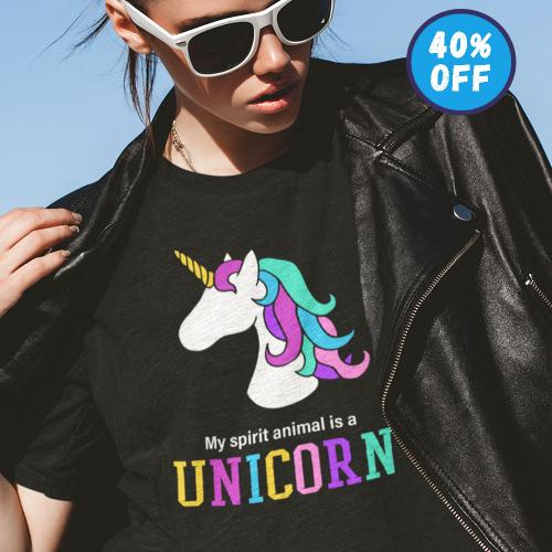 My spirit animal is a unicorn
