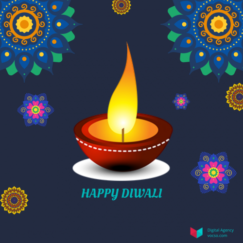 Happy DIWALI Wishes From Vocso