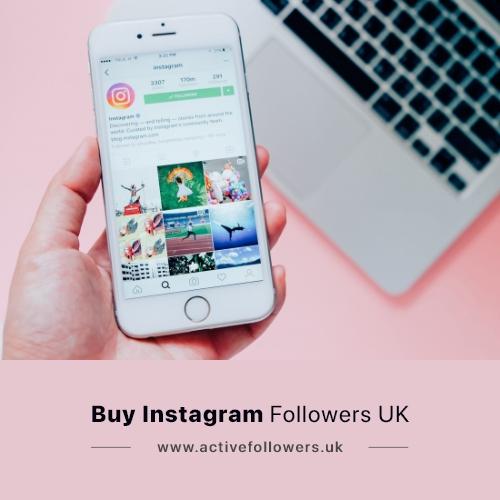 Buy 100% Real Instagram Followers UK