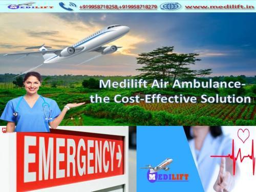 Book Medilift Air Ambulance from Ranchi to Bangalore