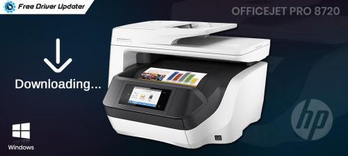 Download Update HP Officejet Pro 8720 Driver on Windows 10 Printer Scanner