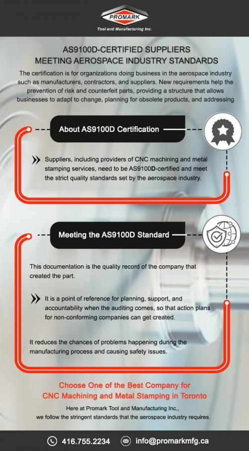 As9100d-Certified Suppliers Meeting Aerospace Industry Standards