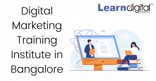 Digital Marketing Training Institute in Bangalore