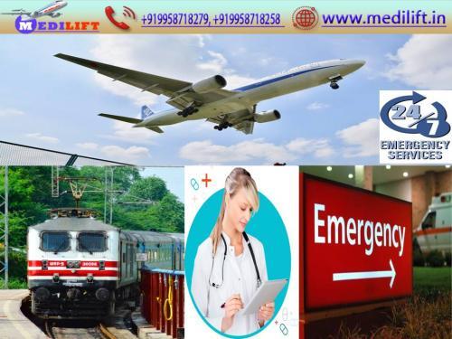 Book Medilift Low Fare Air Ambulance in Varanasi – 24 Hours