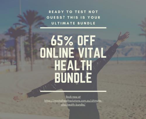 Book your ultimate vital health bundle