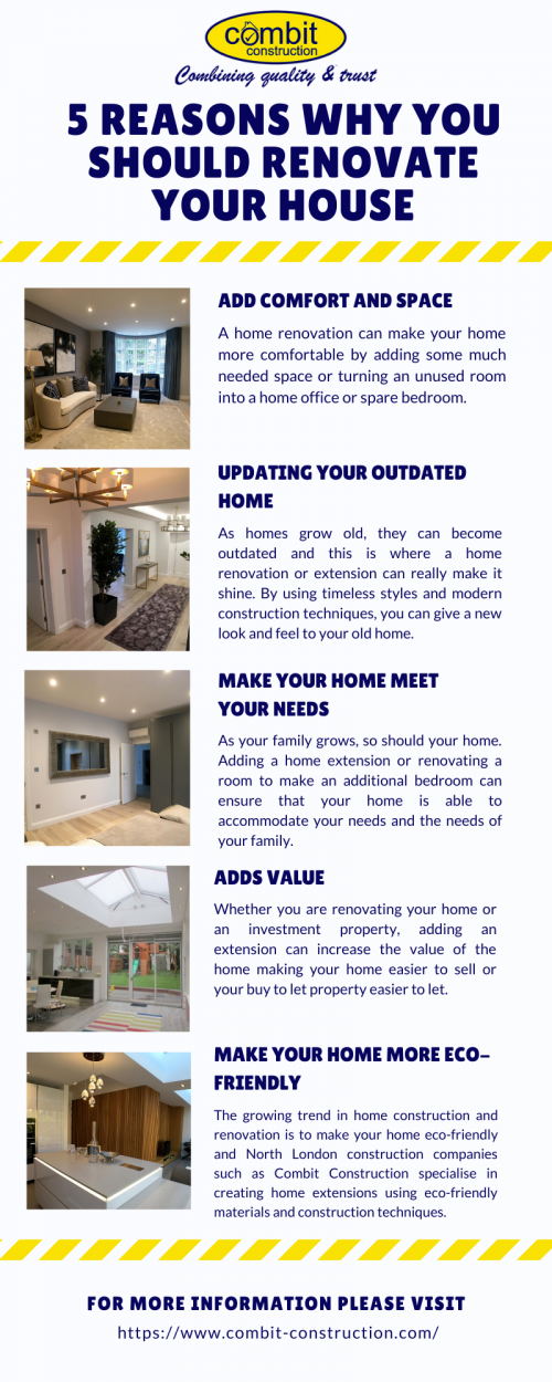 Reasons Why You Should Renovate Your House