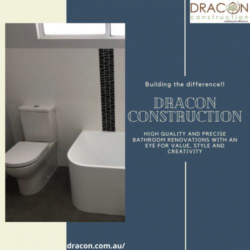 Dracon bathroom remodeling