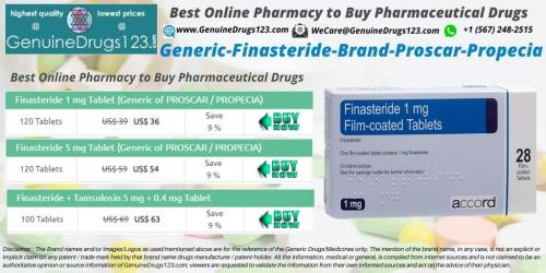 Buy Generic Finasteride Propecia Tablet Online