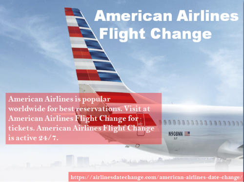 American Airlines Flight Change