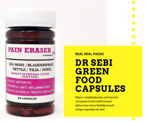 Buy online dr sebi Green food capsules
