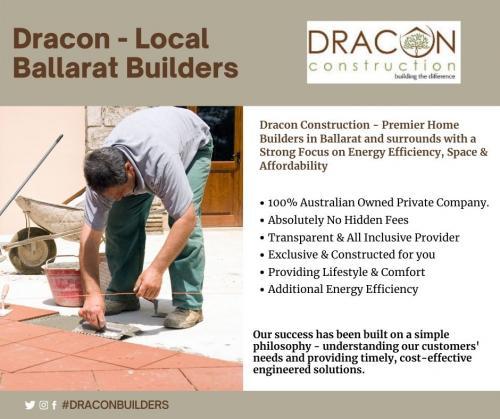 Dracon local ballarat builders