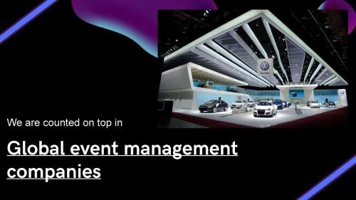 Global event management companies