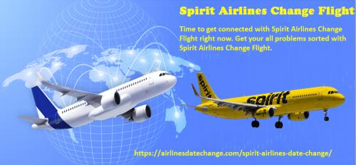 Spirit Airlines Change Flight