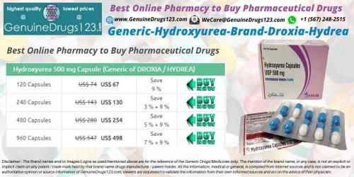 Hydroxyurea-Hydrea-Droxia-500-Mg-Capsules-Cost,-Uses-and-Side-Effects