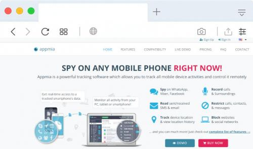 Appmia-cellphone-spy-app-review