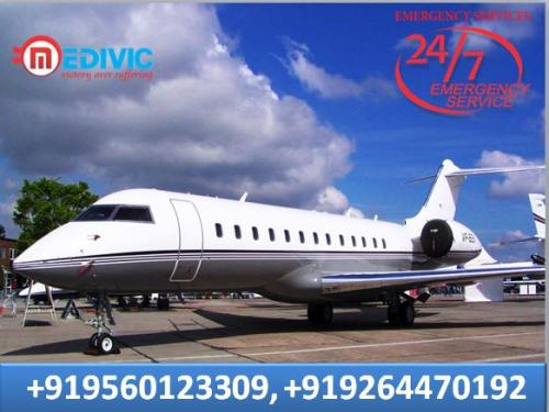 Hire India No-1 and Best Air Ambulance in Mumbai by Medivic