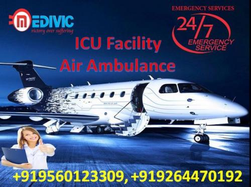 Hire Superior and Safely Patient Transfer Air Ambulance Delhi