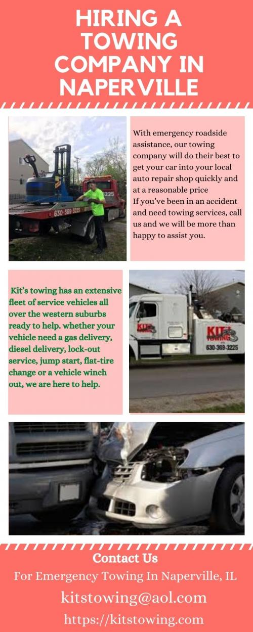 Hiring a Towing Company in Naperville