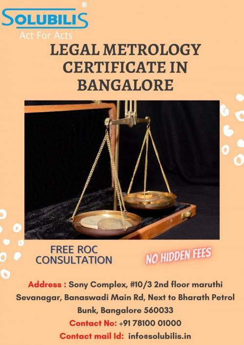 Legal metrology certificate in Bangalore (1)