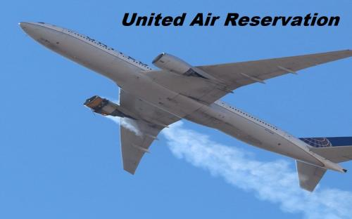 United Air Reservation