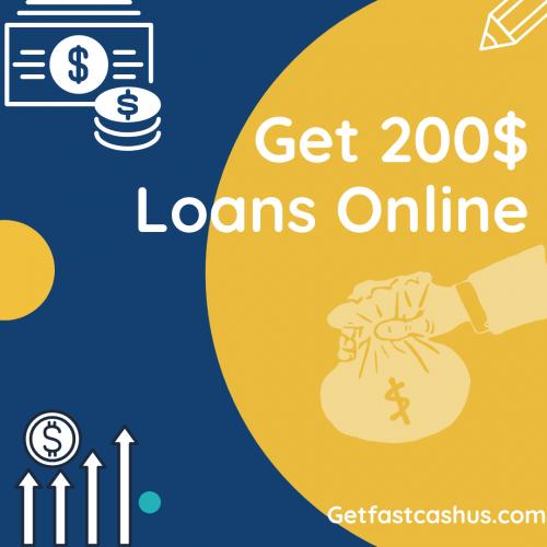 200 dollar loans online : Get Fast Cash USA
