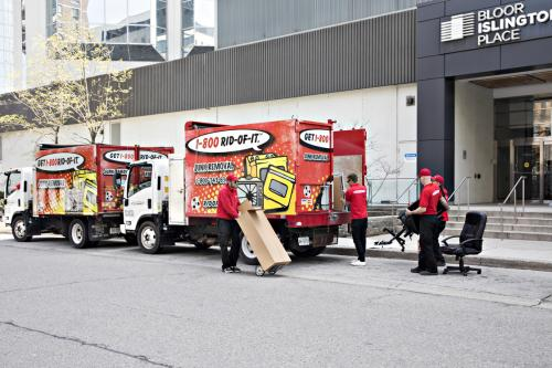 1-800 RID-OF-IT Offers Best Office Furniture Removal Services Toronto